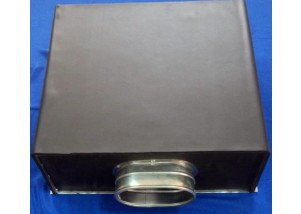 Adaptor izolat pentru grile si anemostate de 300*400 mm