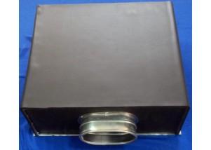 Adaptor pentru anemostat patrat 225*225 mm