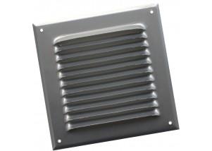 Grila rectangulara de exterior din aluminiu 250x250 mm