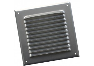 Grila rectangulara de exterior din aluminiu 390x390 mm