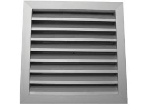 Grila rectangulara de exterior din aluminiu 400x200 mm
