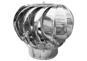 Capac rotativ pentru cos de fum 125 mm