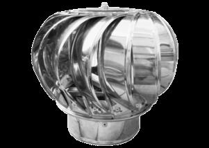 Capac rotativ pentru cos de fum 130 mm