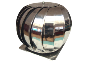 Capac rotativ cu talpa pentru cos de fum 200 mm
