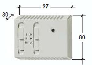 Panou comanda fara termostat CR1
