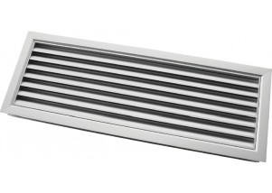 Grila de transfer din aluminiu 600x100 mm