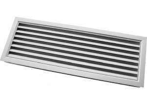 Grila de transfer din aluminiu 400x100 mm