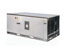 Generator orizontal de aer cald cu gaz - 93 kW