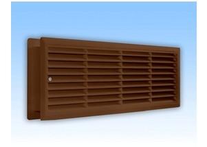 Grila de ventilatie dubla pt usa 440*120mm - maro
