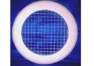 Grila aspiratie circulara cu interior tip fagure, Ø250 mm