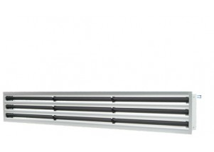 Grila liniara tip slot diffuser cu 3 fante 130*600 mm