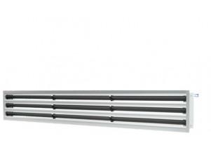 Grila liniara tip slot diffuser cu 3 fante 130*1000 mm