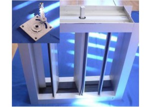 Registru reglaj pentru tubulatura rectaungulara 600*1000 mm