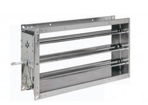Registru reglaj debit aer rectangular 1300x210 mm