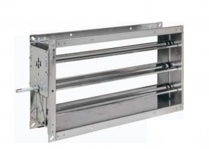 Registru reglaj debit aer rectangular 1300x610 mm