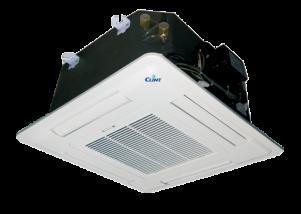 Ventiloconvector tip caseta, cu o baterie - 4,1 kW