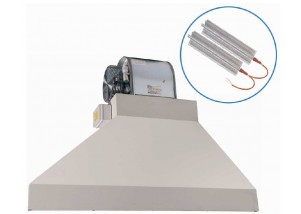 Bariera de aer cu recirculare si incalzire electrica trifazata - 4250 mc/h