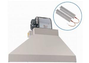 Bariera de aer cu recirculare si incalzire electrica trifazata - 3840 mc/h